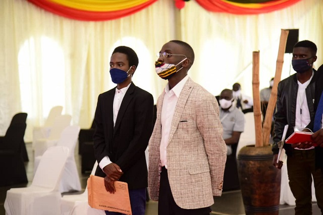 Makerere fresh graduate duly nominated for presidential elections