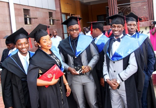 Over 700 students have graduated at Uganda Martys university