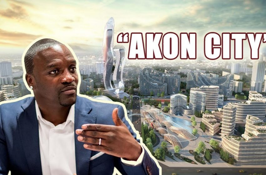 Akon to complete the construction of his city in Uganda by 2036