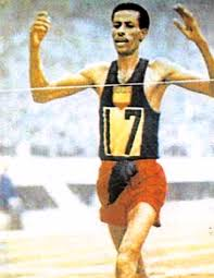 Throw Back: The First African Gold Medalist At Olympics Ran Barefoot