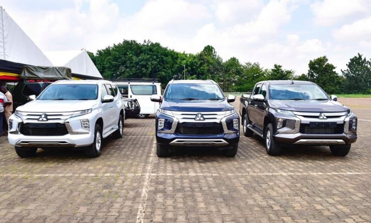 President Museveni awards brand new cars to  the Olympics medalist