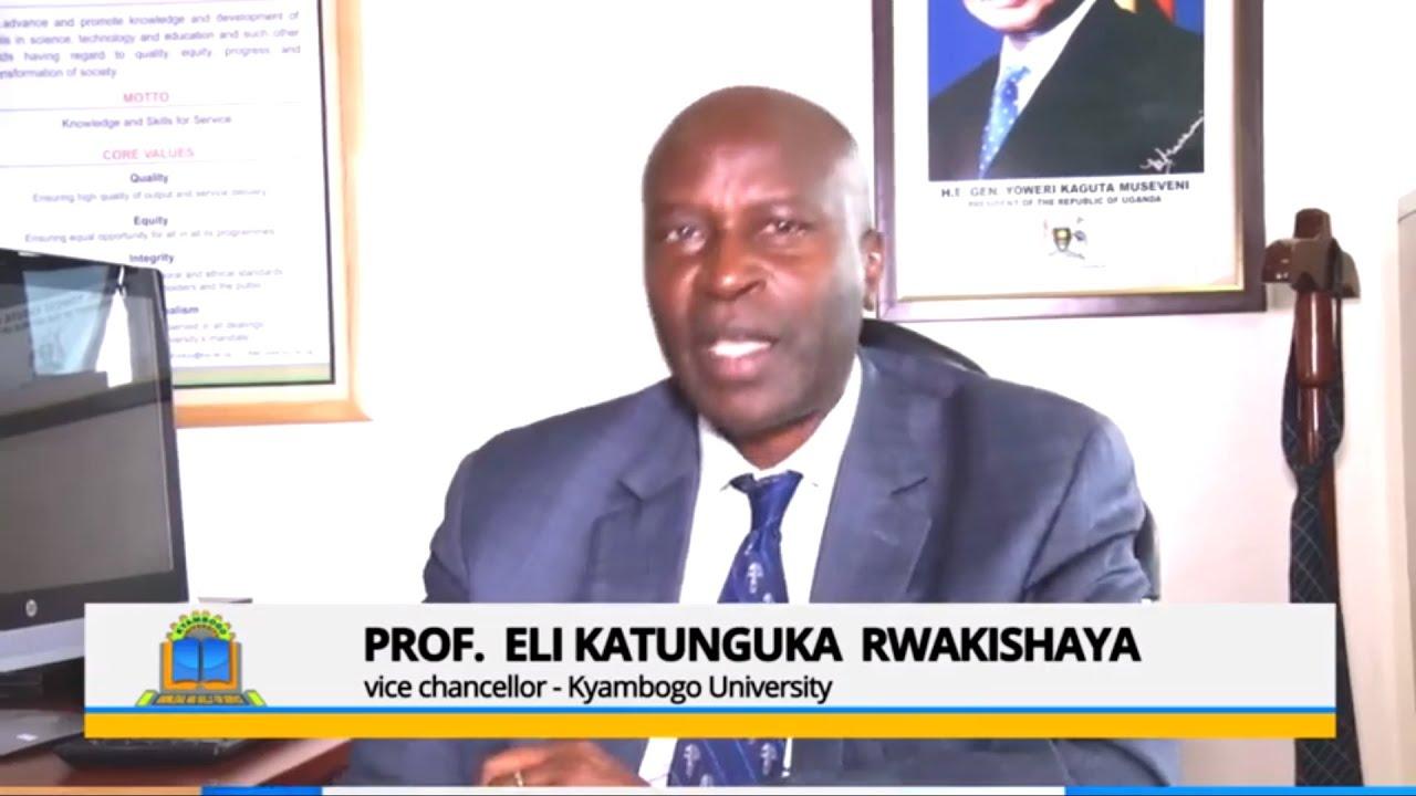 No online exams  Kyambogo, university Vice chancellor clarifies
