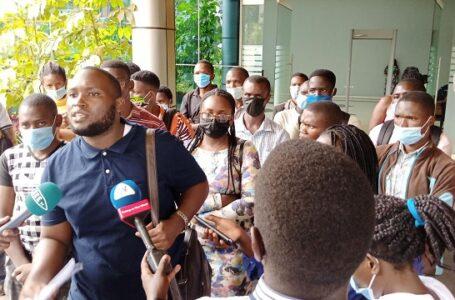 """Halt The graduation"",  Kyambogo university students Fraternity petitioned the high court"